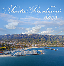 Santa Barbara Calendar by Bill Zeldis: colorful photographic wall calendar